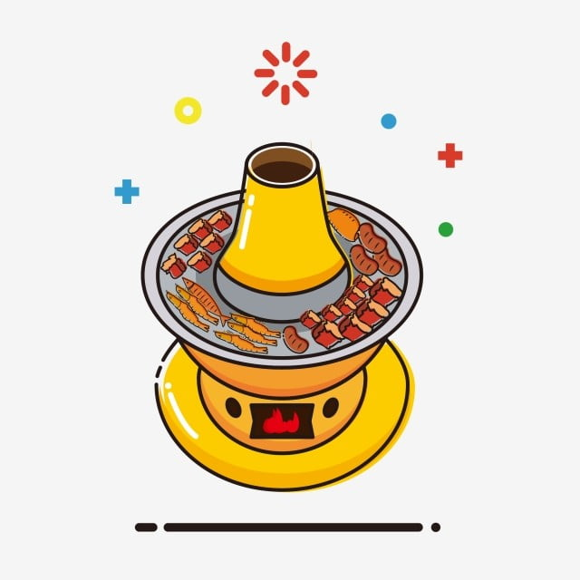 Mutton Hot Pot Mbe Elementos Comerciais Bonito Dos Desenhos