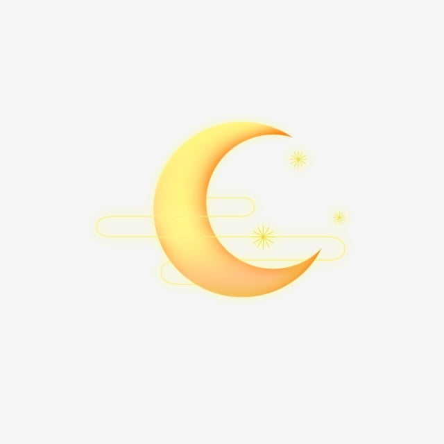 Sun Moon Star Golden Element, Month, Moon, Sun And Moon Stars PNG and PSD