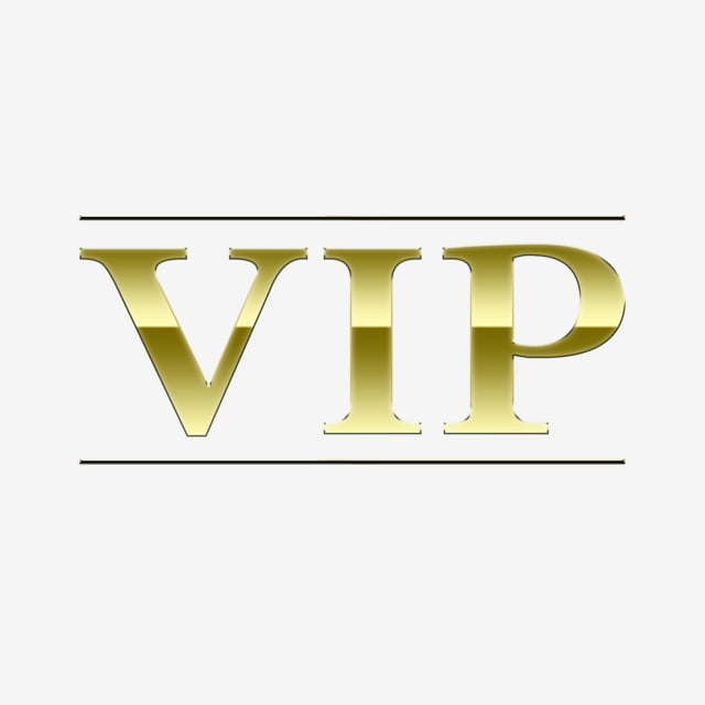 Vip Golden High End Atmospheric Art Words Can Be ...