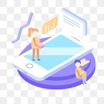 2 5d वित्तीय मोबाइल फोन डेटा संकेतक, 2.5 D, मोबाइल फोन, वित्तीय पीएनजी और वेक्टर