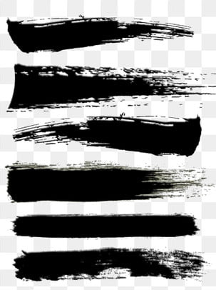 Черные античные мазки снимаются и начинаются с простого коммерческого эффекта кисти, черный, древность, Мазки PNG и PSD