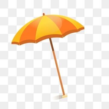 cartoon umbrella summer travel elements, Color, Cartoon, Element PNG images and graphic arts
