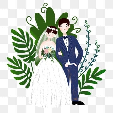 عريس وعروسة Png الصور ناقل و Psd الملفات تحميل مجاني على Pngtree
