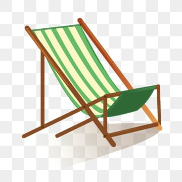 Beach Lounge Chair Clip Art