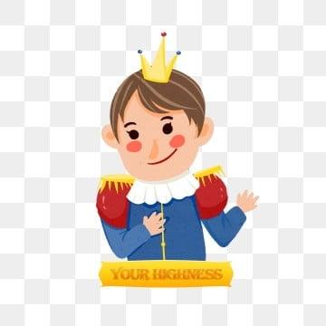 卡通西方童話王子人物手繪, 卡通, 西方, 王子 PNG和PSD圖片素材 插畫圖片