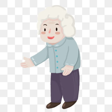 cartoon white hair flower grandmother character design painted,character,grandma,white-haired old man,illustration, Cartoon White Hair Flower Grandmother Character Design, Painted, Character PNG and PSD