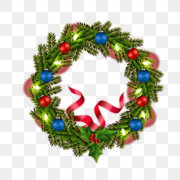 Christmas Wreath Png Images Vector And Psd Files Free