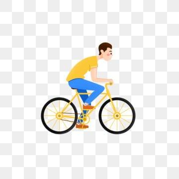 Un Uomo In Bicicletta Png Vettori Psd E Clipart Per Il Download