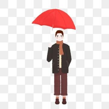 5855e97f72bf PNG PSD. Ombrello di cartone animato fresco per ragazzi con elementi  commerciali fresco bello Ragazzino ombrello illustrazione figura