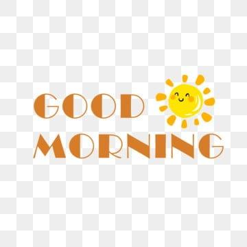 Guten Morgen Png Vektoren Clipart Und Psd Zum Kostenlosen