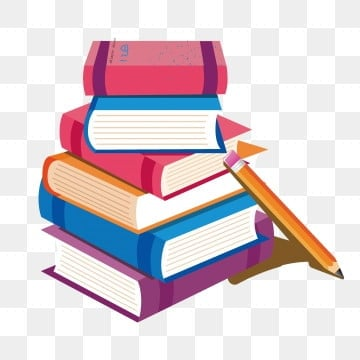 Pile Of Books PNG Images | Vector and PSD Files | Free