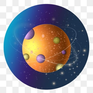 hand drawn cartoon color planet universe commercial elements, Planet, Hand Painted, Cartoon PNG and PSD