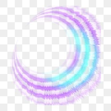 Light effect halo blue purple gradient simple decorative element design, Light Effect, Halo, Blue Purple Gradient PNG and PSD