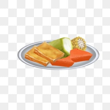 Creative Plate Of Carrots, Plate Clipart, Food, Free Stock