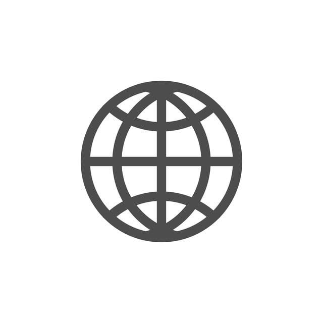 Globe World Icon Graphic Design Template Vector, Logo, Symbol