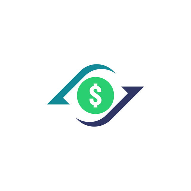 Money Transfer Icon Chargeback Contour Sign Quick Fund Cash