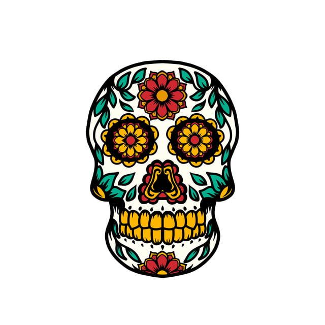 Image result for sugar skull transparent background