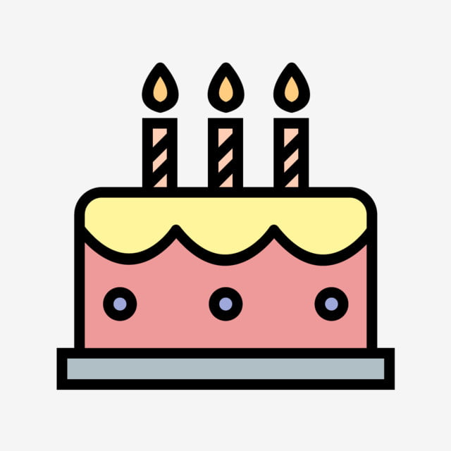 Astounding Vector Cake Icon Bakery Birthday Cake Png And Vector With Funny Birthday Cards Online Kookostrdamsfinfo