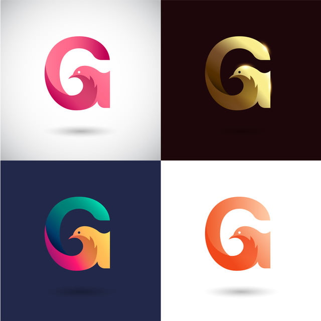 creative letter g logo design with different color version vector of bird logo concept icons converter icons fitness icons maker png and vector with transparent background for free download https pngtree com freepng creative letter g logo design with different color version vector of bird logo concept 3992333 html