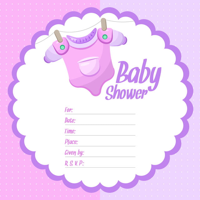 Girl Baby Shower Background Baby Shower Girl Png And Vector For