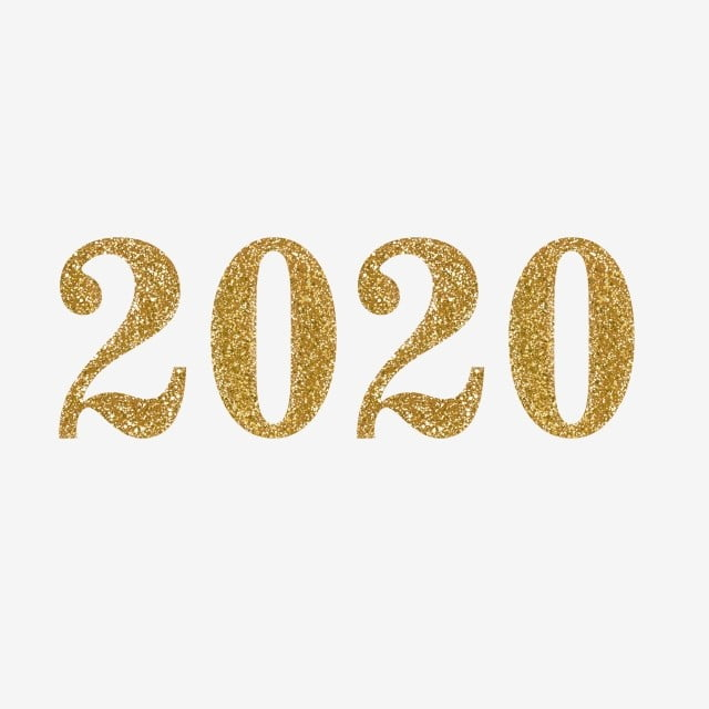 Gold Glitter 2020 Png, Gold, Golden, Card PNG and Vector with Transparent  Background for Free Download