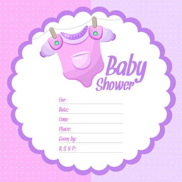Baby Shower Girl Png Images Vectors And Psd Files Free Download