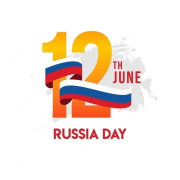 russia day vector template design illustration, Russia, June, Russian PNG and Vector