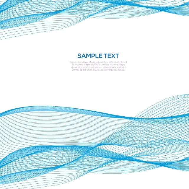 Abstract Blue Wave Business Background Template Power