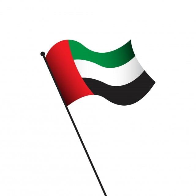 علم الإمارات تصميم قالب النواقل التوضيح 3d عجمان الذكرى Png