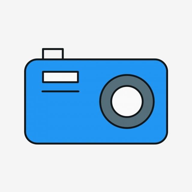 Vettore Icone Della Fotocamera Telecamera Design Elemento Png E