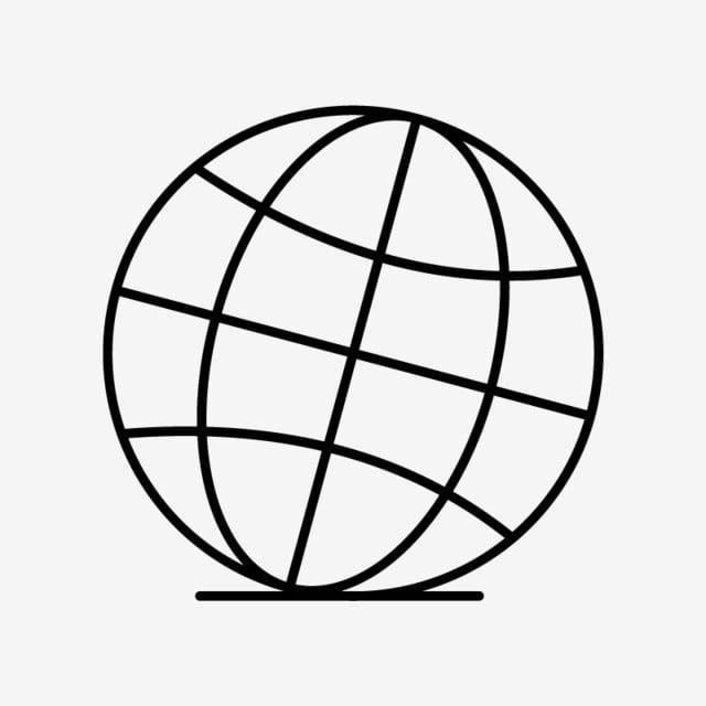 ناقلات أيقونة الكرة الأرضية الخلفية تصميم الأرض Png والمتجهات للتحميل مجانا