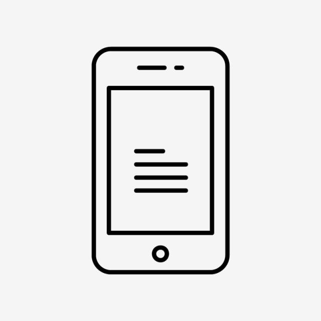 Vector Mobile Icon, Mobile Icons, Mobile Icon, Device PNG and Vector