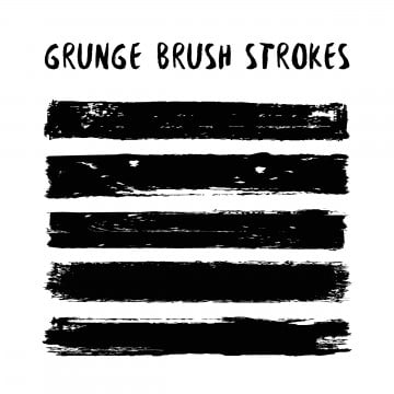 Grunge Brush PNG Images   Vector and PSD Files   Free