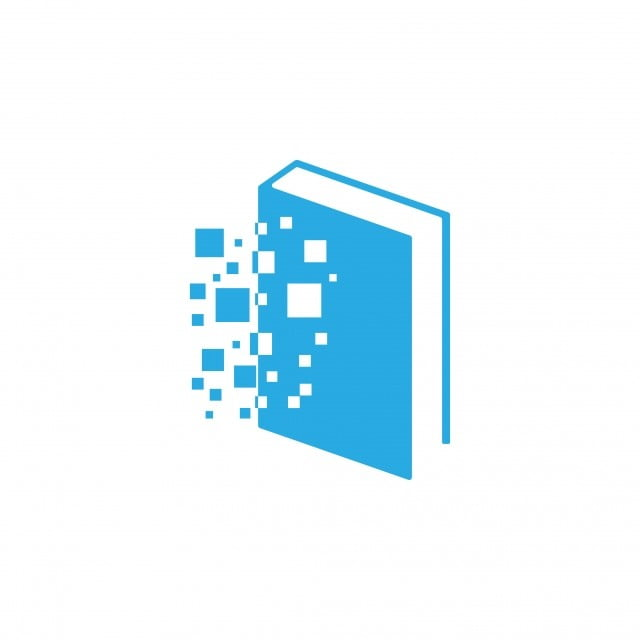 Digital Book Icon Design Template Vector Template Digital