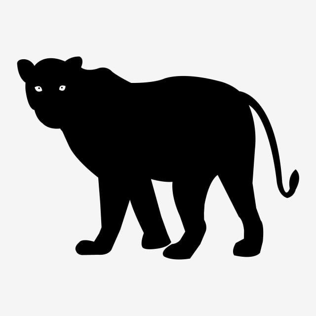 Download Leopard Silhouette Vector Icon Eps, Tiger, Silhouette ...