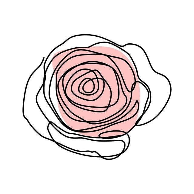 Gambar Seni Garis Kontinu Bunga Mawar Mekar Ilustrasi Vektor Desain Minimalis Simbol Gambar Yg Tak Berarti Konsep Png Dan Vektor Dengan Latar Belakang Transparan Untuk Unduh Gratis