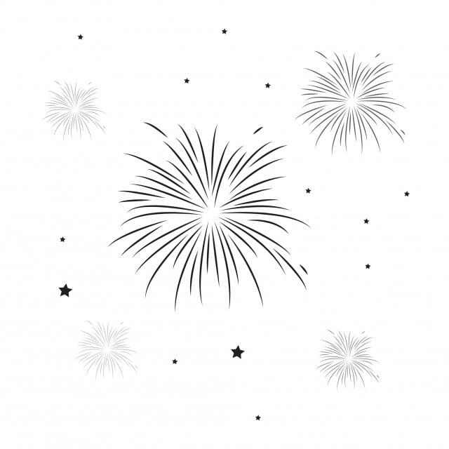 الألعاب النارية تصميم قالب النواقل التوضيح أيقونات القالب العاب ناريه خلفية Png والمتجهات للتحميل مجانا