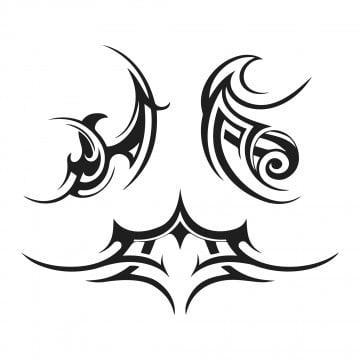 96720728c305e Abstract tribal tattoo vector image, Nature, Animal, Tattoo PNG and Vector