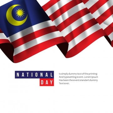 malaysia national day vector template design illustration, Malaysia, Merdeka, National PNG and Vector