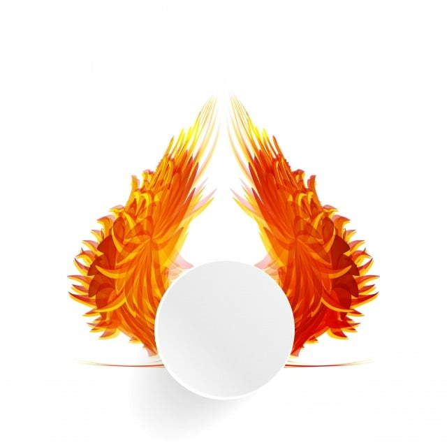 Vector Abstract Banner With White Background Orange Pattern