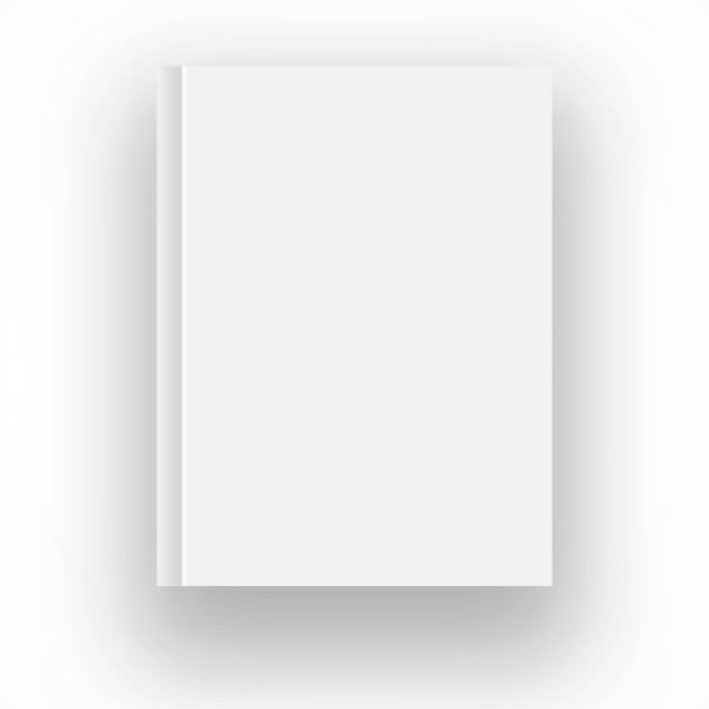Blank Book Cover Png Vector Psd And Clipart With