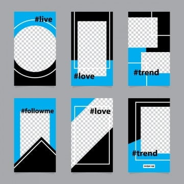 Instagram Template PNG Images | Vector and PSD Files | Free
