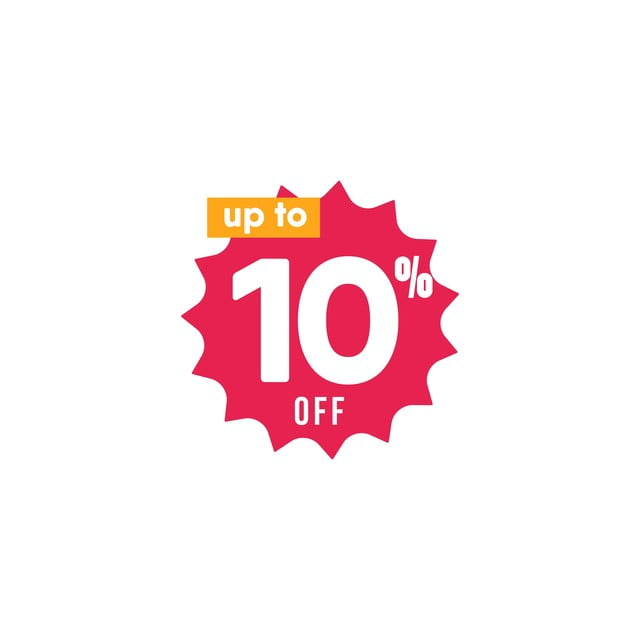Discount Up To 10 Off Label Vector Template Design Illustration, Icons  Converter, Icons Fitness, Icons Maker PNG and Vector with Transparent  Background for Free Download