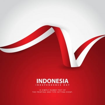 indonesia independence day vector template design illustration, Indonesia, Independence, Background PNG and Vector