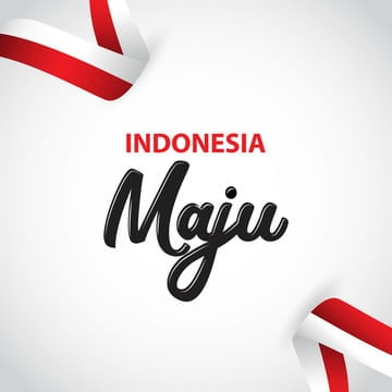 indonesia maju vector template design illustration, Indonesia, Independence, August PNG and Vector