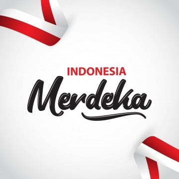 indonesia merdeka vector template design illustration, Indonesia, Independence, August PNG and Vector