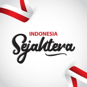 indonesia sejahtera vector template design illustration, Indonesia, Independence, August PNG and Vector