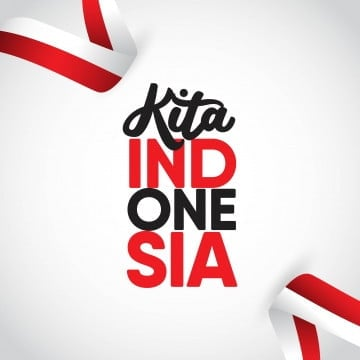 kita indonesia vector template design illustration, Indonesia, Independence, August PNG and Vector
