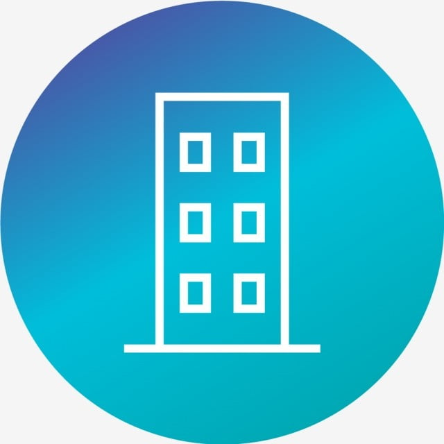 Vector Flat Icon Office Building Apartment Png And Vector For