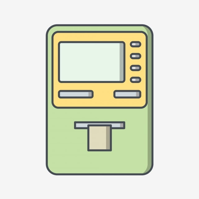 Vector Cash Withdrawal Icon, Cash Withdraw, Cash Withdrawal